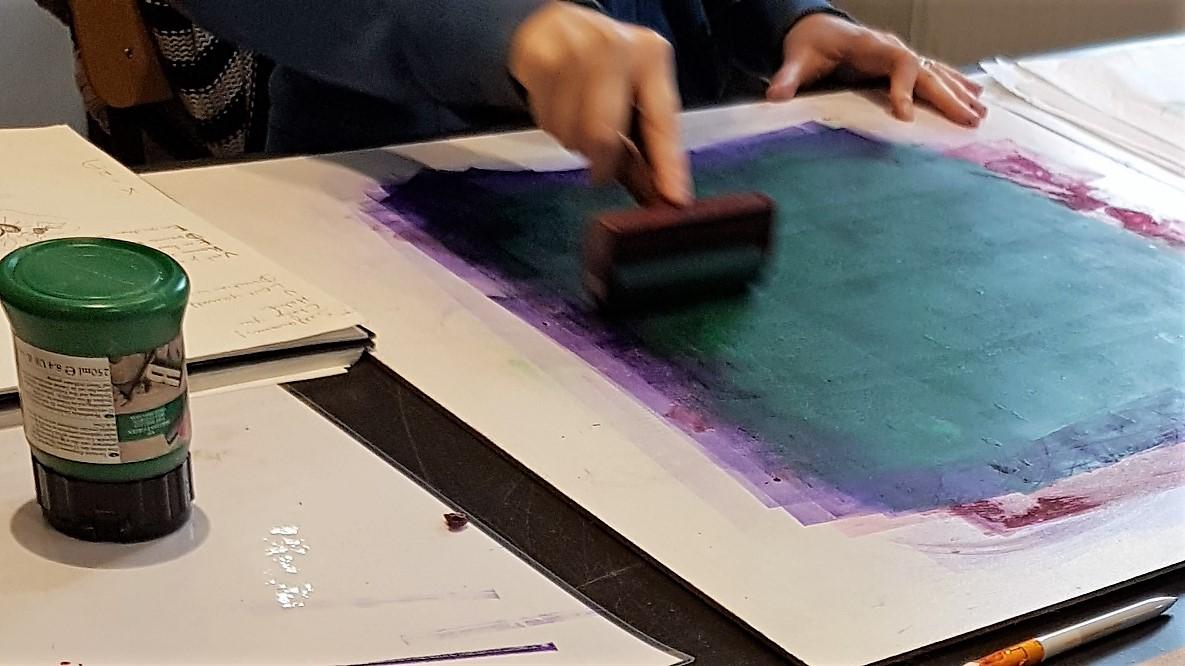 bronkracht getuigenis van Touch Drawing inspireert Jessy