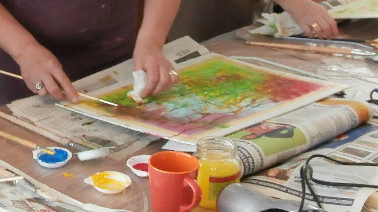 bronkracht getuigenis van Creatief verstillen als zelfzorg